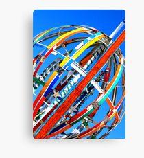 Whirligig Top 4 Canvas Print