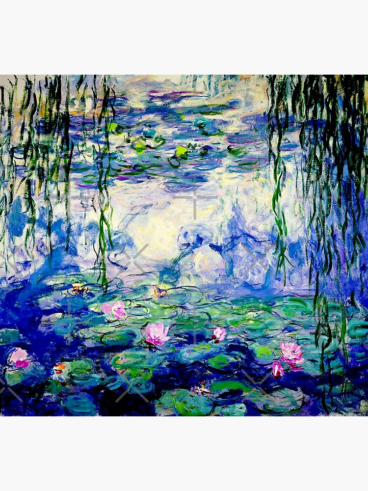 Claude Monet Water Lilies   Landscapes of Water and Reflection by Gascondi