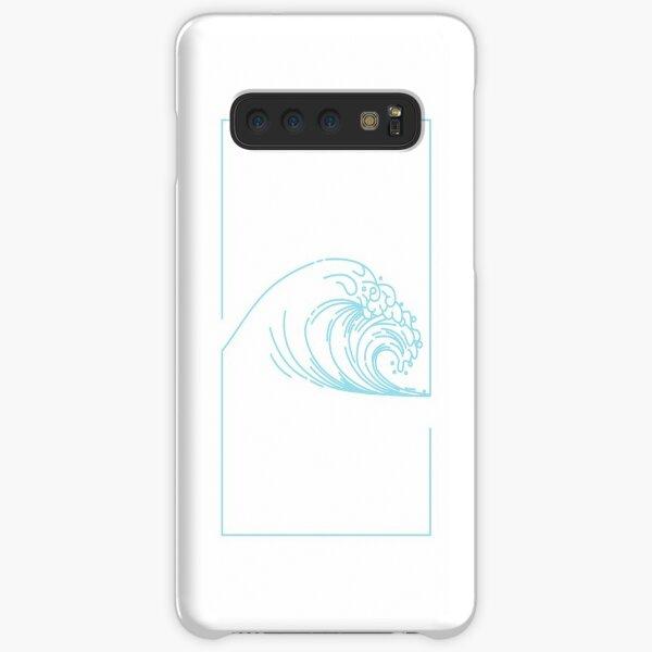 Line Art Wave Samsung Galaxy Snap Case