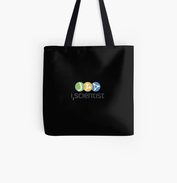 I, Scientist All Over Print Tote Bag