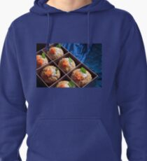 Irish muffins packed for breakfast or snack Pullover Hoodie