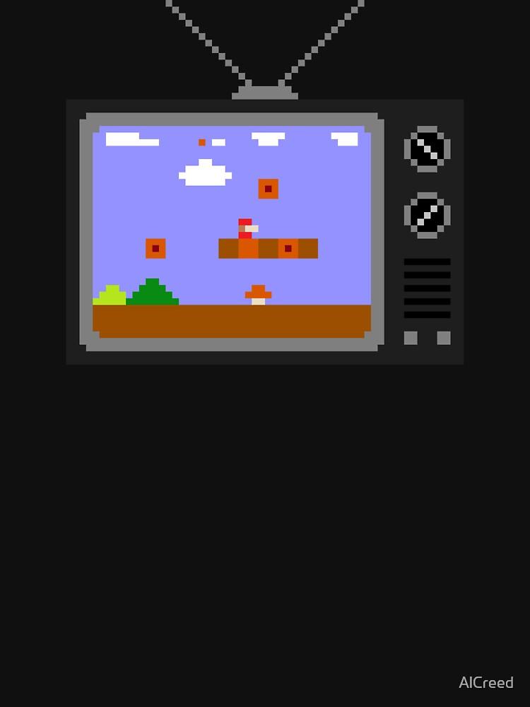 8-Bit Retro TV by AlCreed