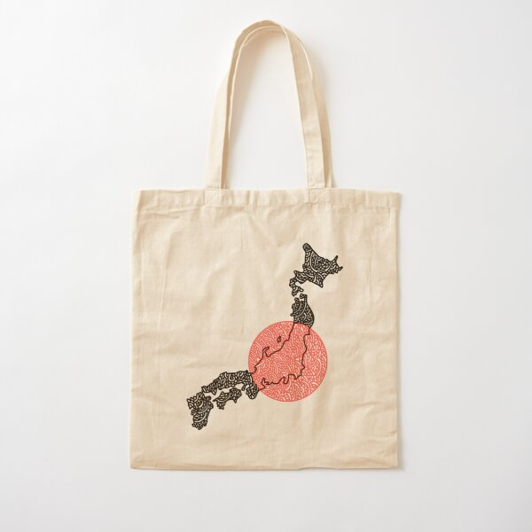Japan - Land of the Rising Sun Cotton Tote Bag