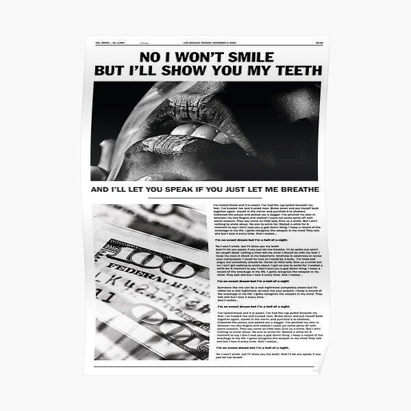 nightmare newspaper Poster