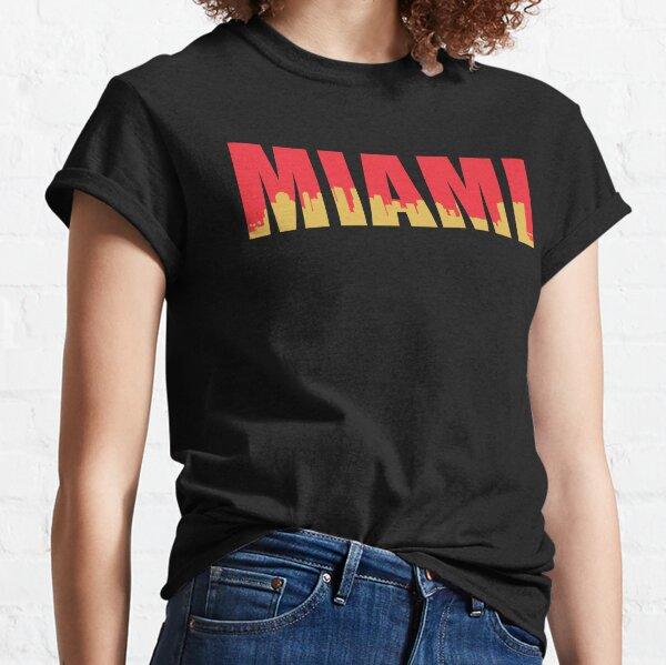 Miami City Pride Florida Magic City Port Miami South Beach  Toddler Raglan Shirt