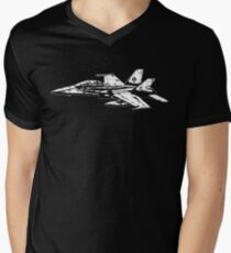 F/A-18 Hornet Mens V-Neck T-Shirt