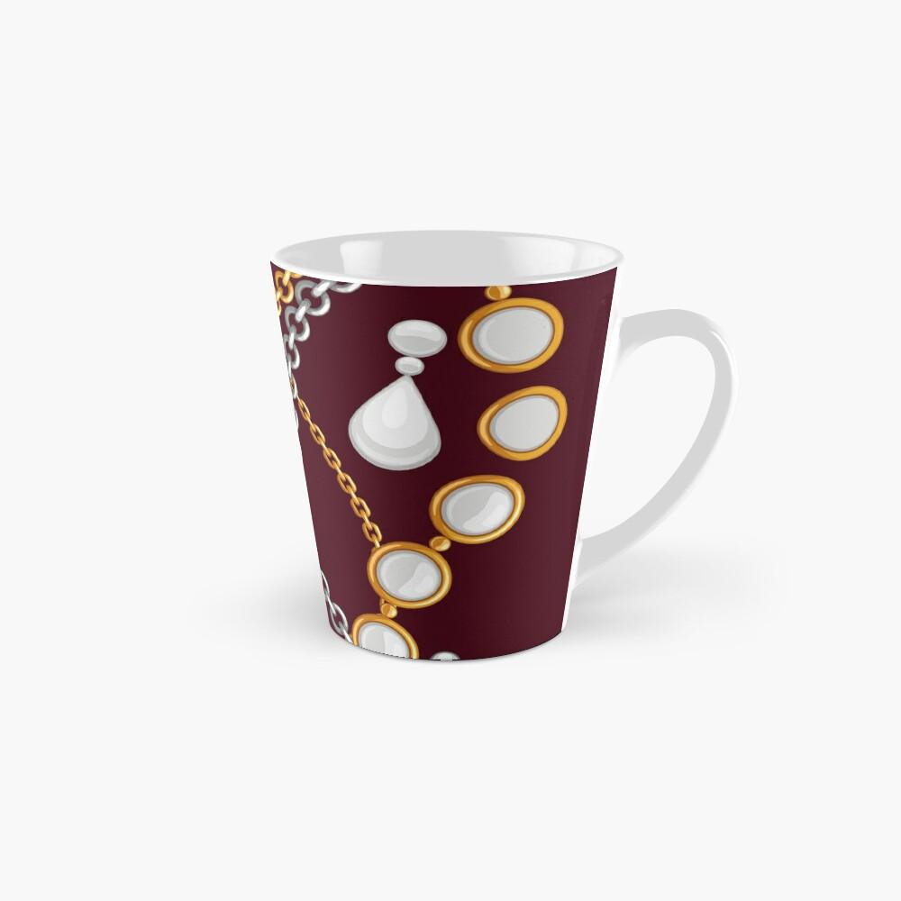 Jewelry on chocolate brown color Mug