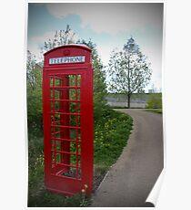 Queen Elizabeth Park London Sculpture Poster