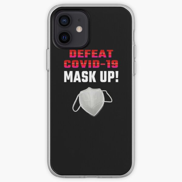 Mask-Up Reminder For All iPhone Soft Case