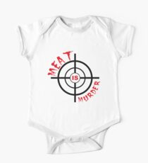 Meat Is Murder Kids Clothes