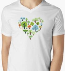 Green Tree Love T-Shirt