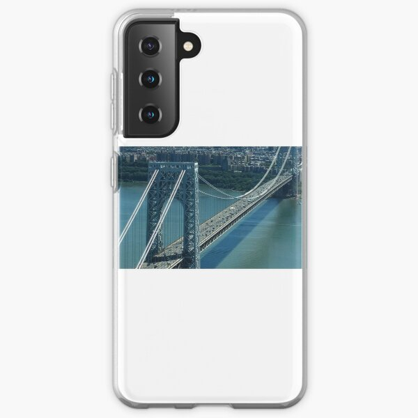 George Washington Bridge Samsung Galaxy Soft Case