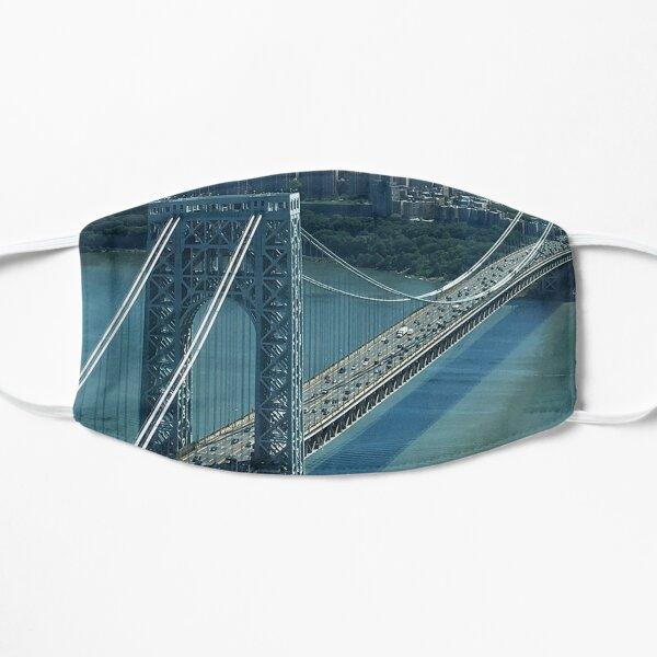 George Washington Bridge Flat Mask