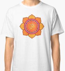 Lotus Om Symbol Classic T-Shirt