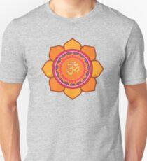 Lotus Om Symbol Unisex T-Shirt