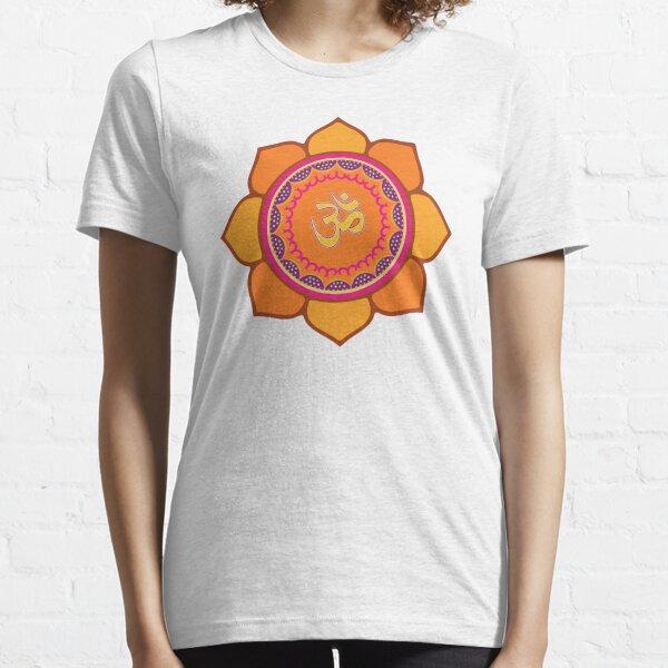 Lotus Om Symbol Essential T-Shirt