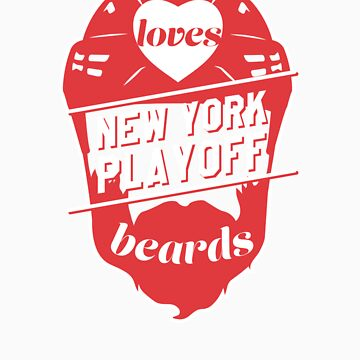This Girl Loves NEW YORK Playoff Beards! by pointandthread