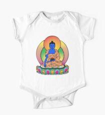 Buddhist Blue Buddha One Piece - Short Sleeve