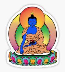 Buddhist Blue Buddha Sticker