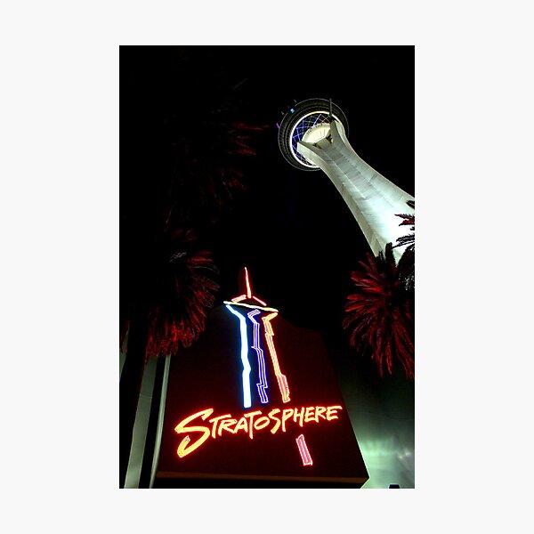 Stratosphere - Las Vegas Photographic Print