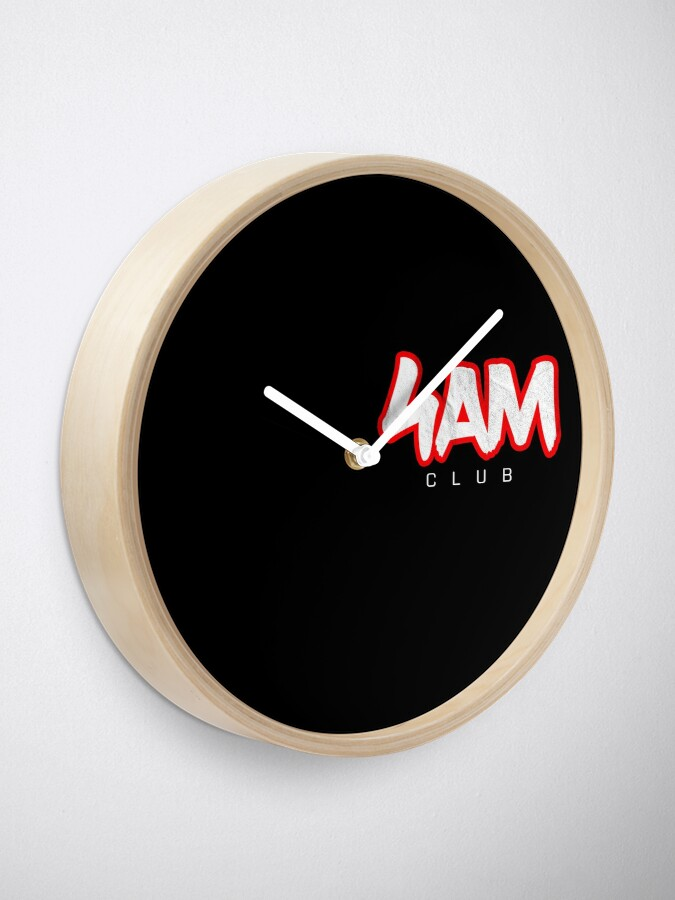 Alternate view of Gym Workout Motivation - Personal Trainer Coach - 4AM  Clock