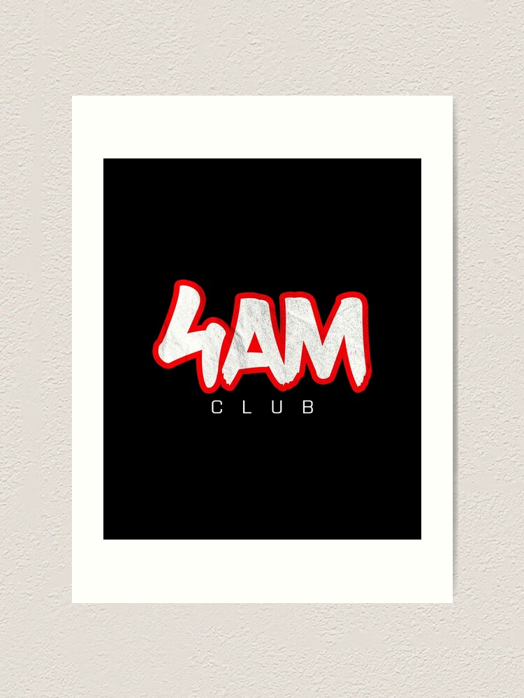 Alternate view of Gym Workout Motivation - Personal Trainer Coach - 4AM  Art Print