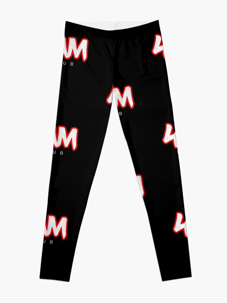 Alternate view of Gym Workout Motivation - Personal Trainer Coach - 4AM  Leggings