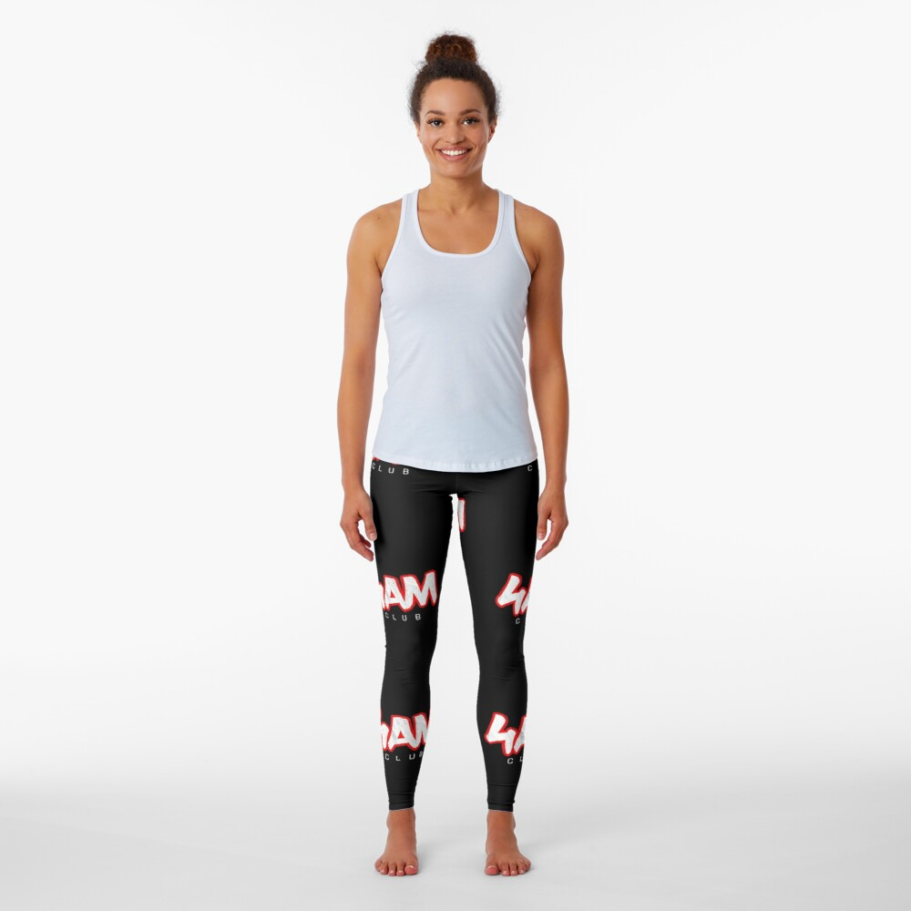 Gym Workout Motivation - Personal Trainer Coach - 4AM  Leggings