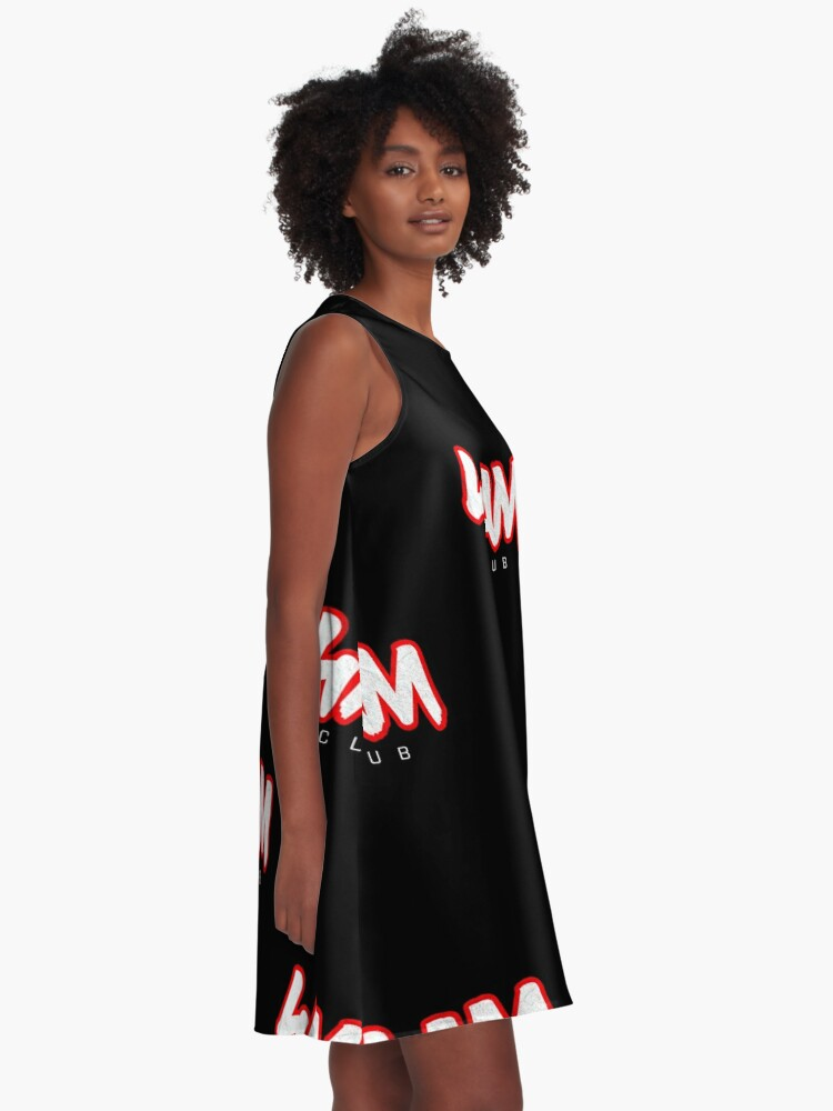 Alternate view of Gym Workout Motivation - Personal Trainer Coach - 4AM  A-Line Dress