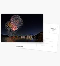 Easter Fireworks  Postcards