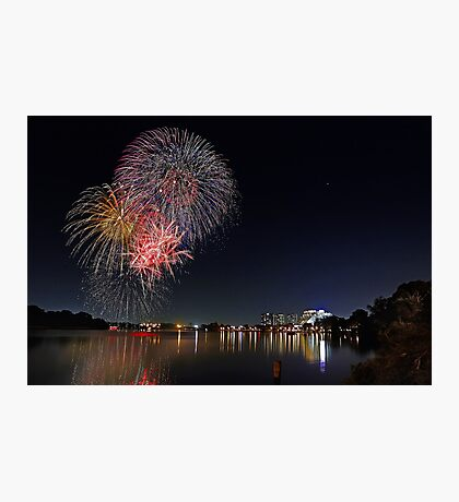 Easter Fireworks  Photographic Print