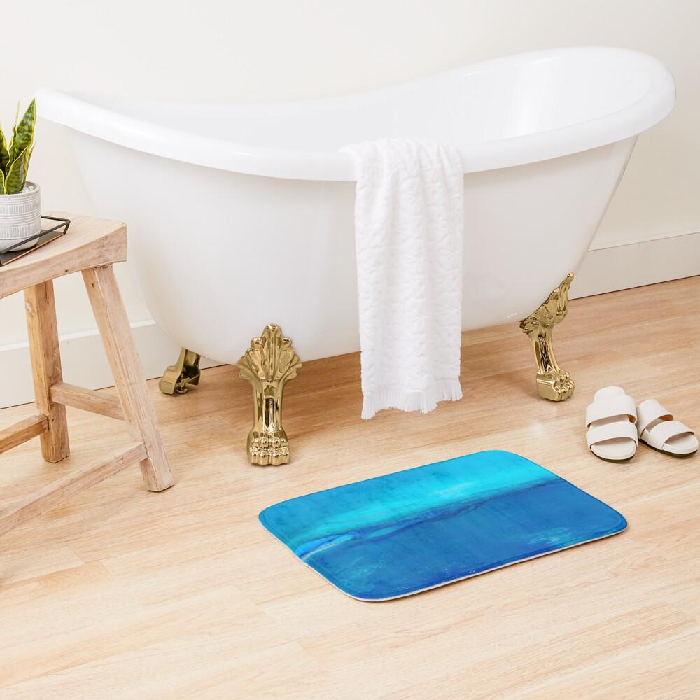 Calm Sea Bath Mat