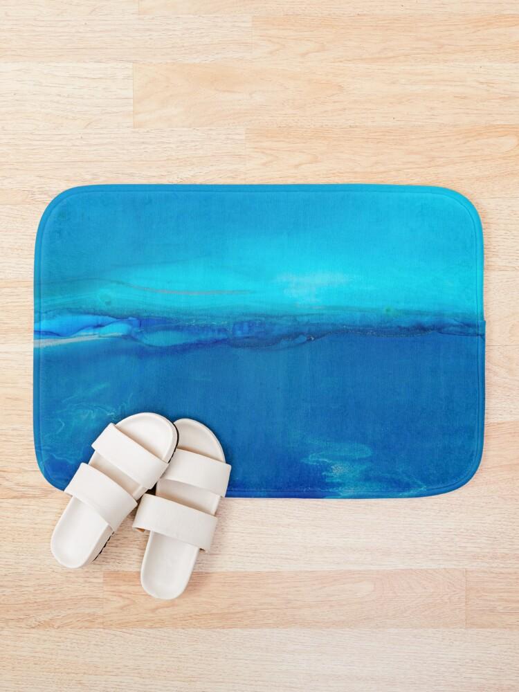 Alternate view of Calm Sea Bath Mat
