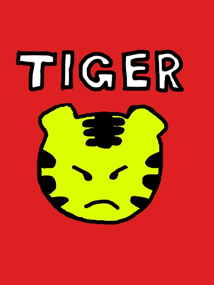 Naruko's Tiger T-Shirt | Unisex T-Shirt