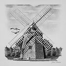 Eastham Windmill, Cape Cod, Ma. by J.D. Bowman