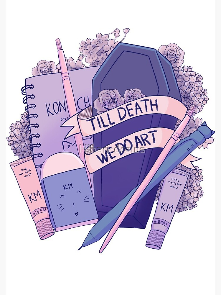 Till death we do art  by Hibari-draws