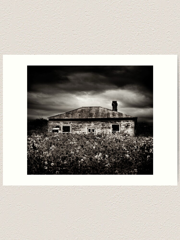 Alternate view of Dry Flower Homestead Art Print