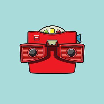 #42 Viewmaster by brownjamesdraws