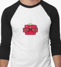 #42 Viewmaster Men's Baseball ¾ T-Shirt