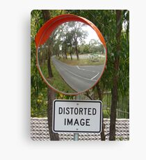 Distorted Image Canvas Print