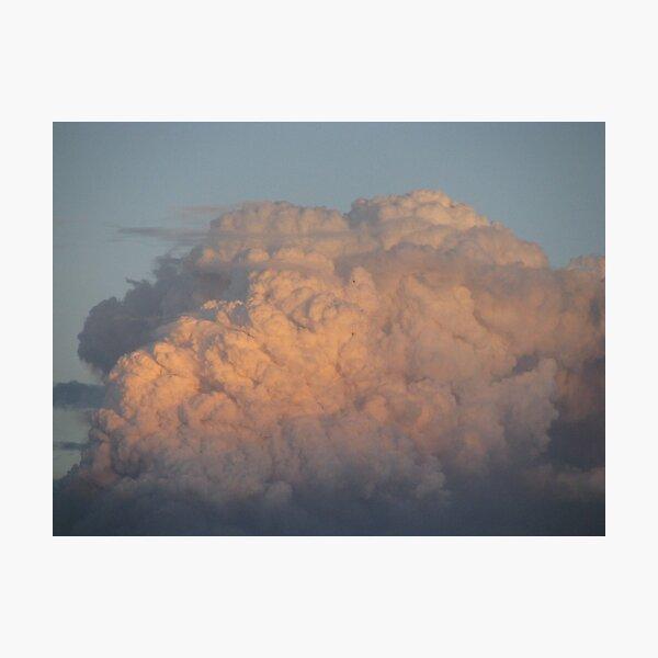 bushfire smoke Photographic Print