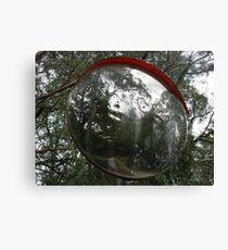 Warped Mirror Canvas Print