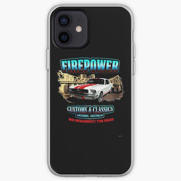 FIREPOWER CUSTOMS AND CLASSICS MUSTANG BRISBANE SOUVENIR iPhone Soft Case