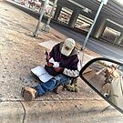The Homeless Vet at the Red Light & Some Spare Sunglasses by Jack McCabe