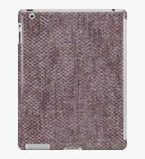 Short length brown furniture cover iPad Case/Skin