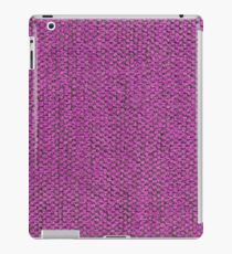 Short length pink furniture cover iPad Case/Skin