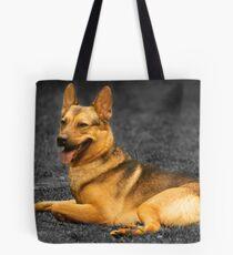 Diesel - German Shepherd Tote Bag