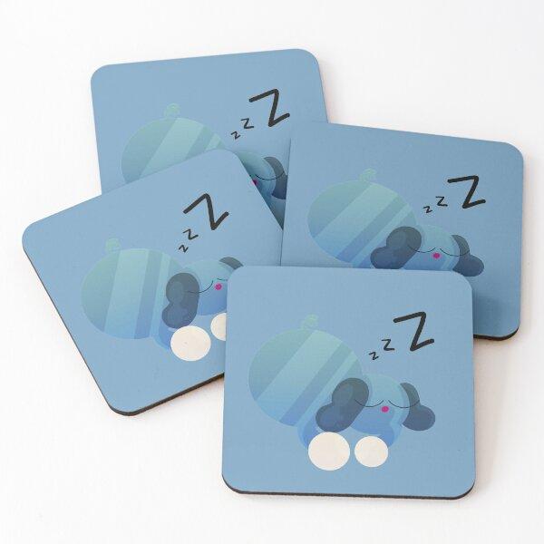 Sleeping Sporky Coasters (Set of 4)