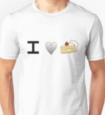 Asexual Cake Unisex T-Shirt