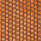 Orange string base with orange fur by Kristian Tuhkanen